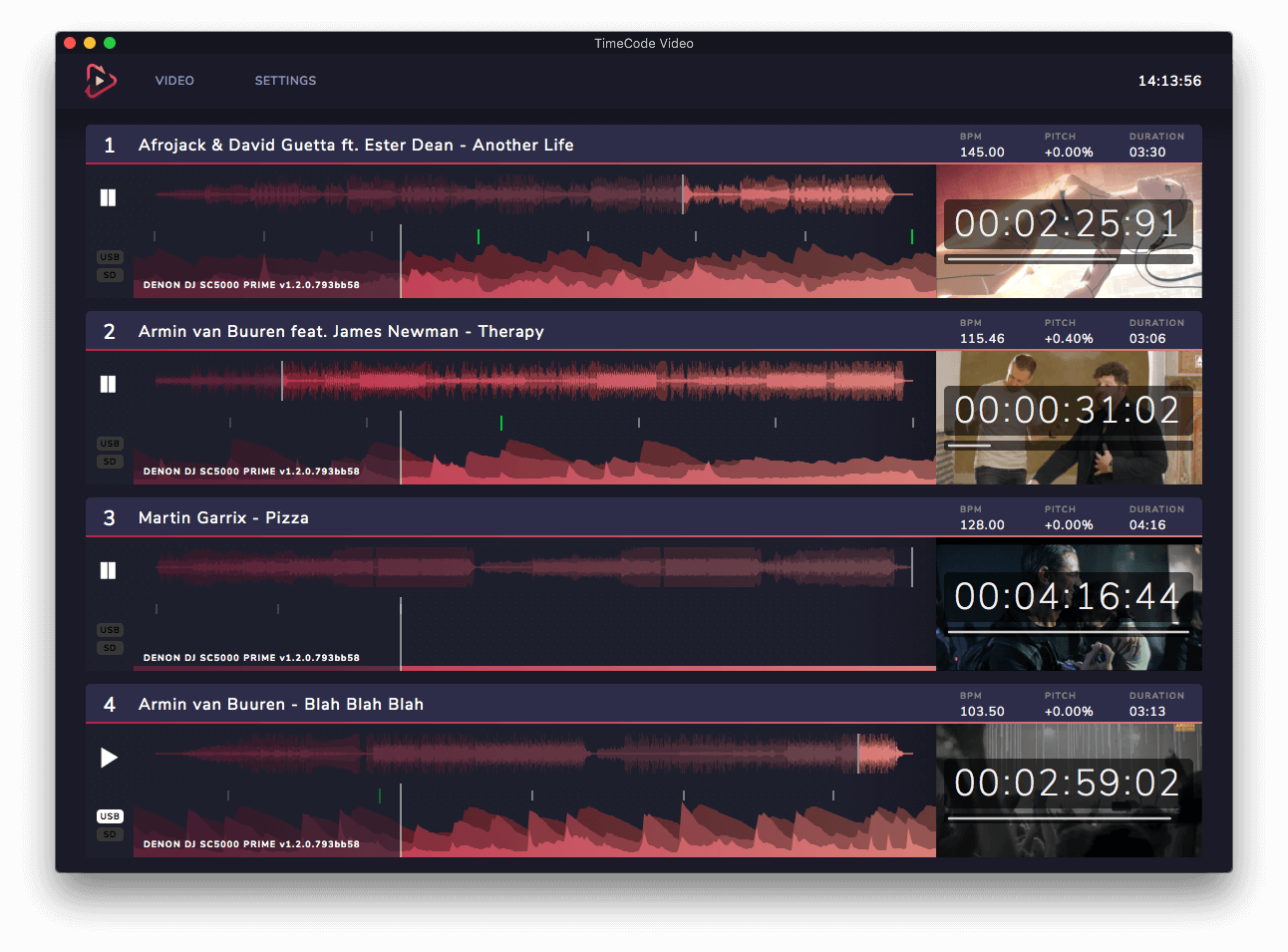 TimeCode overview
